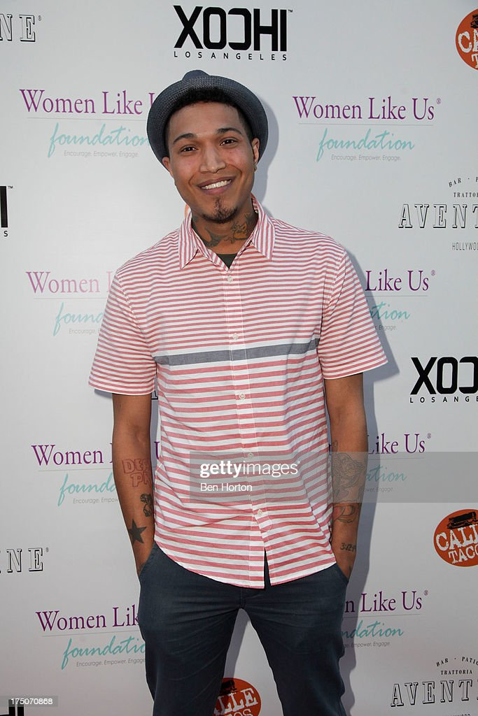 Singer Jamar Rogers attends the Women Like Us Foundation's One Girl at a Time Fundraiser at the Aventine Hollywood on July 30, 2013 in Hollywood, California.