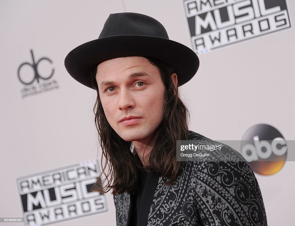Singer James Bay arrives at the 2016 American Music Awards at Microsoft Theater on November 20, 2016 in Los Angeles, California.