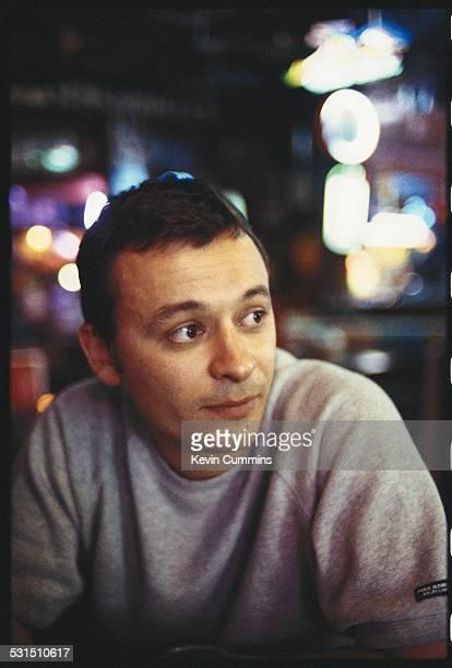 Singer James Dean Bradfield of Welsh alternative rock group the Manic Street Preachers Bangkok Thailand 27th April 1994