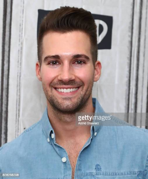 Singer James Maslow of Big Time Rush discusses his solo album 'How I Like It' at Build Studio on August 9 2017 in New York City