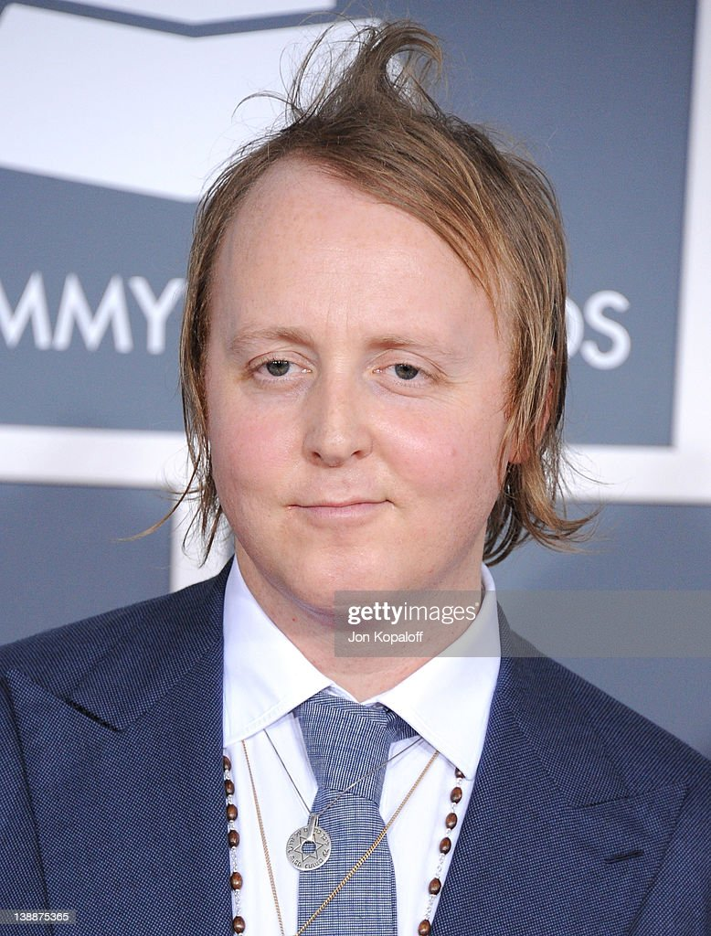 Singer James McCartney arrives at 54th Annual GRAMMY Awards held the at Staples Center on February 12, 2012 in Los Angeles, California.