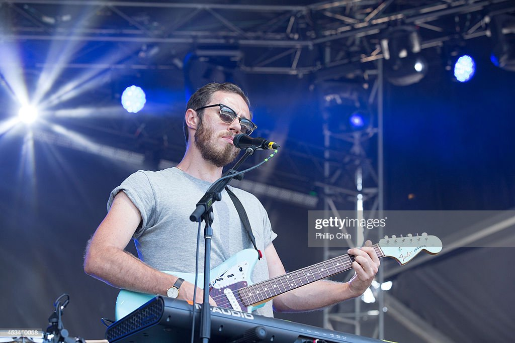 Singer James Vincent McMorrow performs at the Squamish Valley Music Festival on August 9, 2014 in Squamish, Canada.