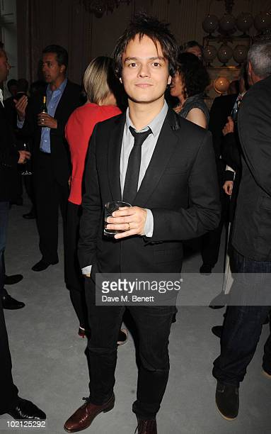 Singer Jamie Cullum attends the Lucian Grainge VIP Party on June 15 2010 in London England
