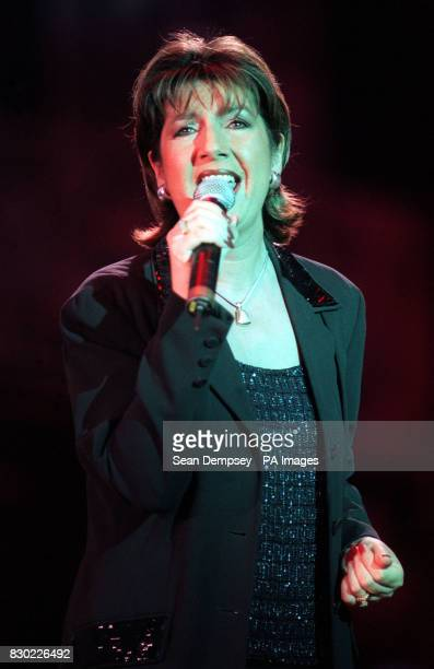Singer Jane McDonald who shot to fame as star of the BBC flyonthewall documentary 'the Cruise' on stage at the Wicked Women Concert in aid of...