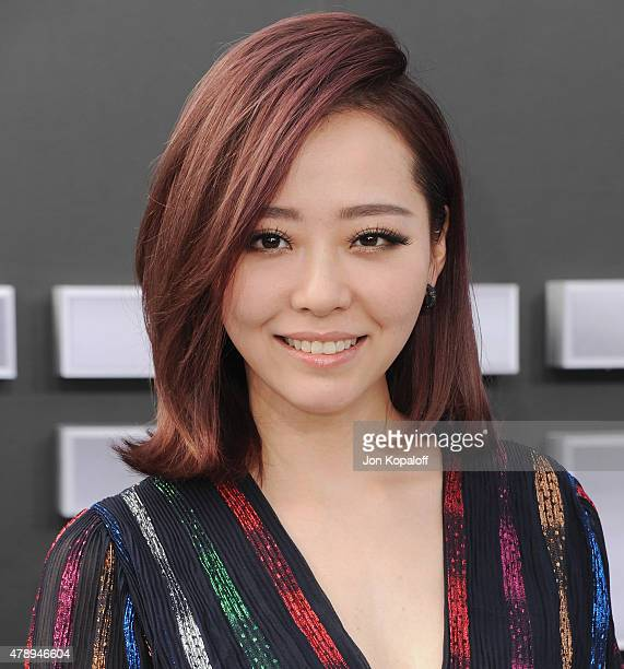 Singer Jane Zhang arrives at the Los Angeles Premiere 'Terminator Genisys' at Dolby Theatre on June 28 2015 in Hollywood California