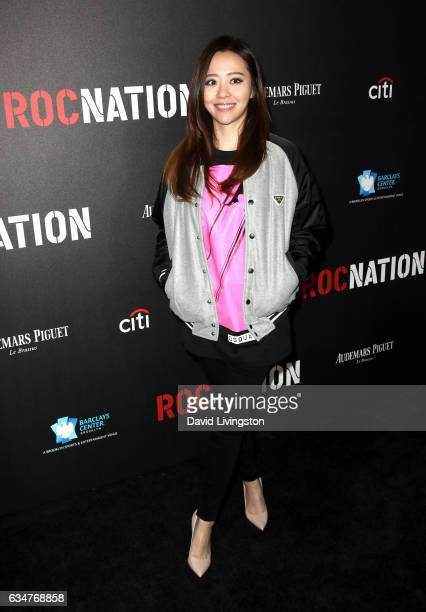 Singer Jane Zhang attends Roc Nation's PreGRAMMY Brunch on February 11 2017 in Los Angeles California