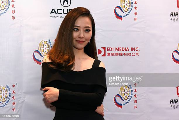 Singer Jane Zhang attends the 2016 CAFF Opening Ceremony And Golden Angel Awards Ceremony at The Ricardo Montalban Theatre on November 2 2016 in...