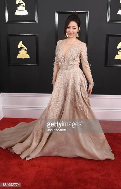 Singer Jane Zhang attends The 59th GRAMMY Awards at STAPLES Center on February 12 2017 in Los Angeles California