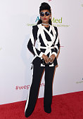 Singer Janelle Monae arrives at AltaMed Health Services' Power Up We Are The Future Gala at the Beverly Wilshire Four Seasons Hotel on May 12 2016 in...