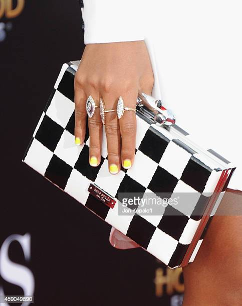 Singer Janelle Monae arrives at the 18th Annual Hollywood Film Awards at Hollywood Palladium on November 14 2014 in Hollywood California