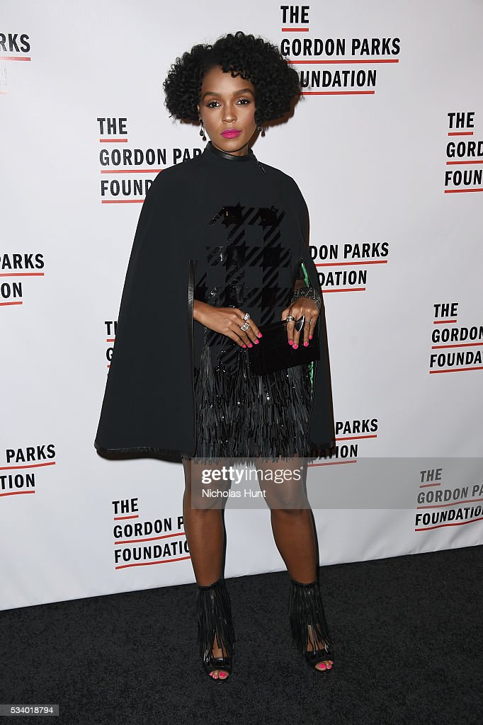 Singer Janelle Monae attends the 2016 Gordon Parks Foundation awards dinner at Cipriani 42nd Street on May 24 2016 in New York City