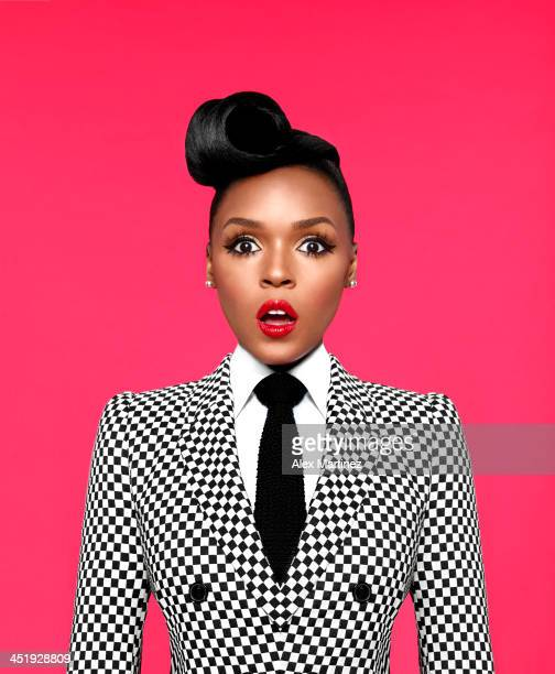 Singer Janelle Monae is photographed for Bust Magazine on May 3 2013 in Atlanta Georgia
