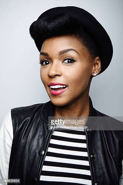Singer Janelle Monae is photographed for Paris Match on September 18 2013 in Paris France