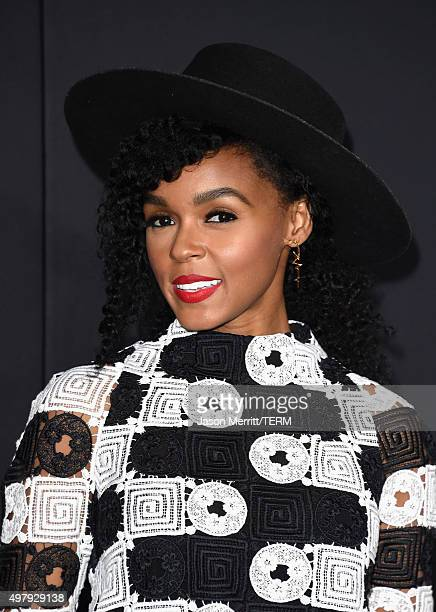 Singer Janelle Monáe attends Warner Bros Pictures' 'Creed' Premiere at Regency Village Theatre on November 19 2015 in Westwood California
