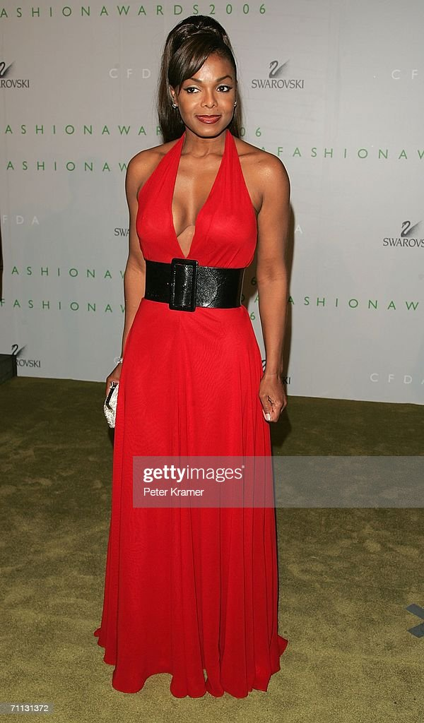 Singer Janet Jackson attends the 2006 CFDA Awards at the New York Public Library June 5, 2006 in New York City.