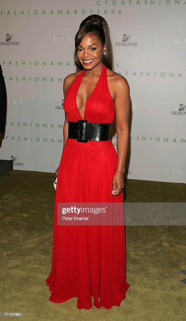 Singer Janet Jackson attends the 2006 CFDA Awards at the New York Public Library on June 5, 2006 in New York City.