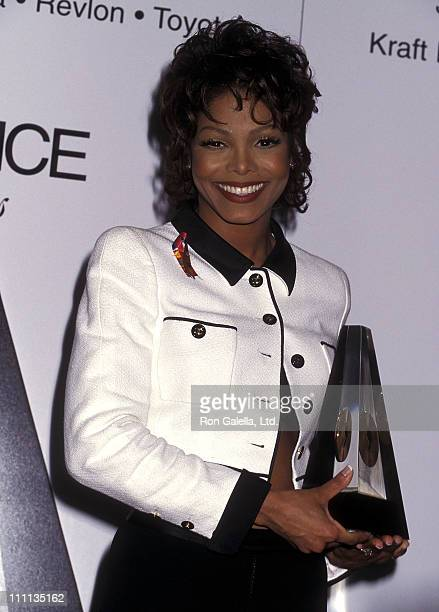 Singer Janet Jackson attends the Eighth Annual Essence Awards on May 12 1995 at Paramount Theatre Madison Square Garden in New York City