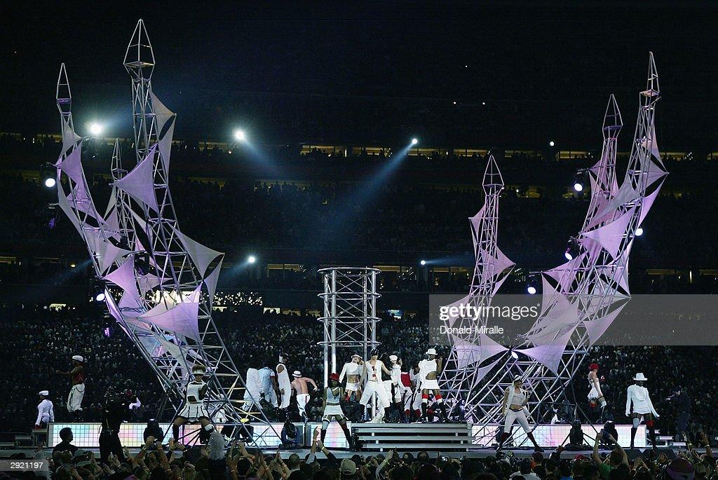 Super Bowl XXXVIII Halftime Show | Getty Images