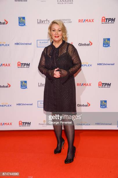 Singer Jann Arden attends 2017 Canada's Walk of Fame at The Liberty Grand on November 15 2017 in Toronto Canada