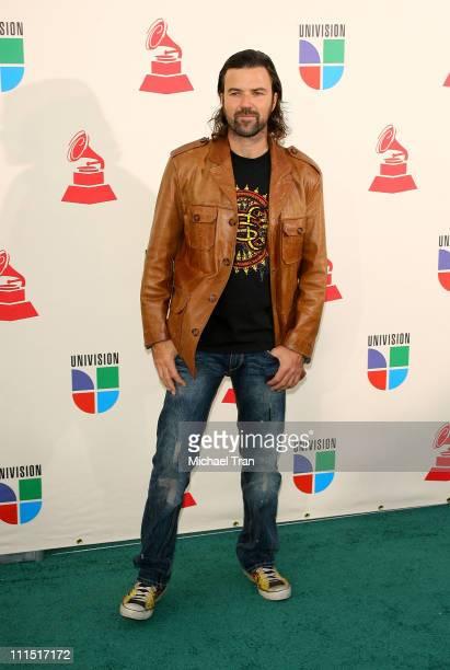 Singer Jarabe De Palo arrives to the 8th Annual Latin GRAMMY Awards at Mandalay Bay on November 8 2007 in Las Vegas Nevada