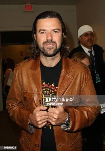 Singer Jarabe De Palo backstage during the 8th Annual Latin GRAMMY Awards at Mandalay Bay on November 8 2007 in Las Vegas Nevada