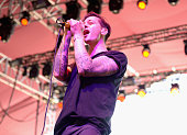 Singer Jarrod Gorbel of Night Terrors Of 1927 performs onstage during day 3 of the 2015 Coachella Valley Music Arts Festival at the Empire Polo Club...