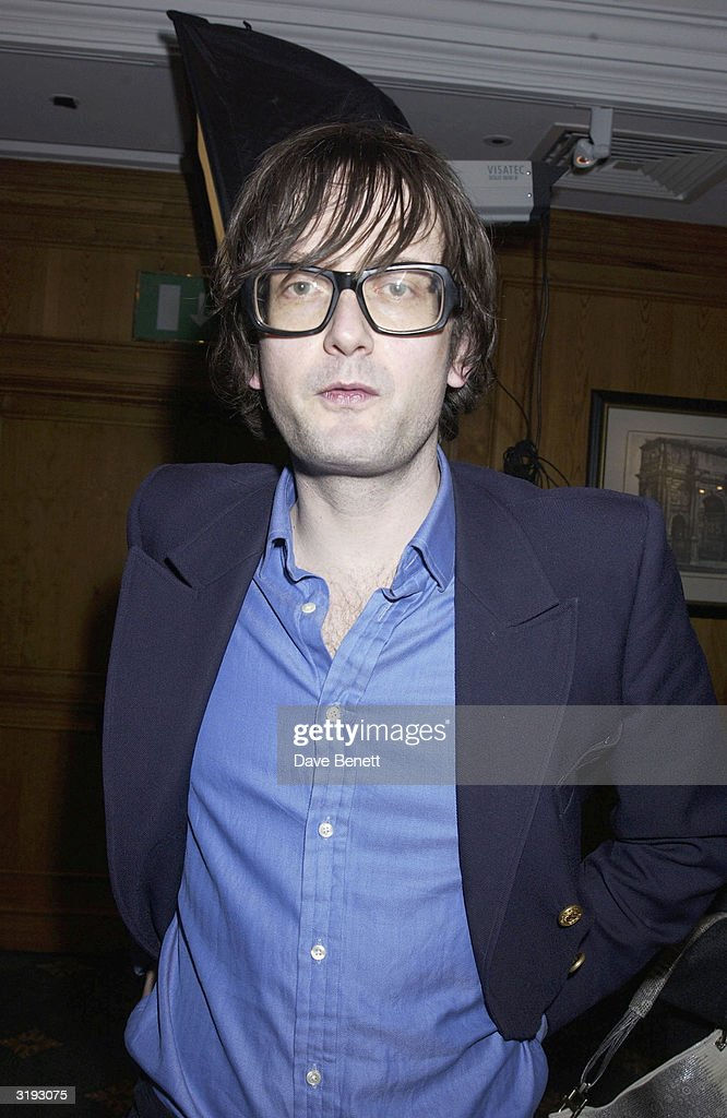 Singer, Jarvis Cocker attends the O2 Woman of The Year Awards, held at The Intercontinental Hotel on 29th November 2002, in London. (Photo by Dave Benett/Getty Images).