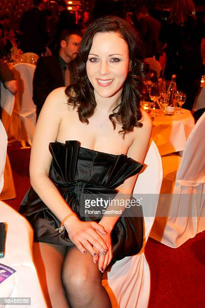 Singer Jasmin Wagner attends the 'LEA Live Entertainment Award 2010' at Color Line Arena at Hamburg on April 15 2010 in Hamburg Germany