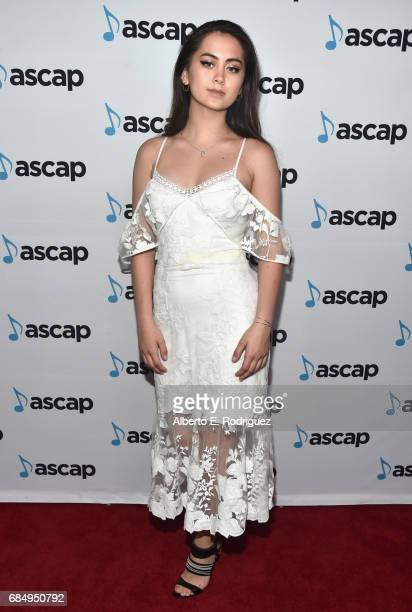 Singer Jasmine Thompson at the 2017 ASCAP Pop Awards at The Wiltern on May 18 2017 in Los Angeles California