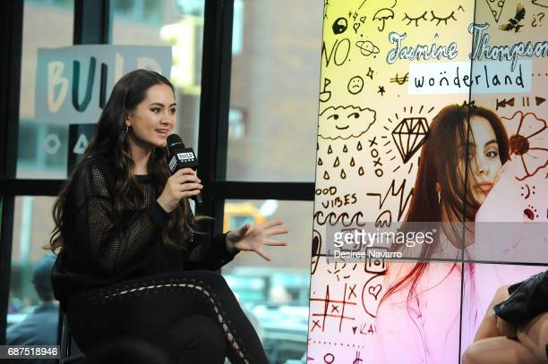 Singer Jasmine Thompson attends Build to discuss her Album 'Wonderland' at Build Studio on May 23 2017 in New York City