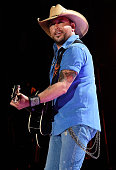 Singer Jason Aldean performs onstage during the 2015 CMA Festival on June 11 2015 in Nashville Tennessee