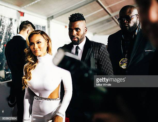 Singer Jason Derulo and Daphne Joy attend the People's Choice Awards 2016 at Microsoft Theater on January 6 2016 in Los Angeles California