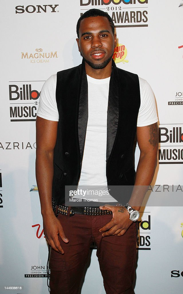 Singer <a gi-track='captionPersonalityLinkClicked' href=/galleries/search?phrase=Jason+Derulo&family=editorial&specificpeople=5745869 ng-click='$event.stopPropagation()'>Jason Derulo</a> attends the 2012 Billboard Music Awards Oficial After-party at 1 Oak on May 20, 2012 in Las Vegas, Nevada.