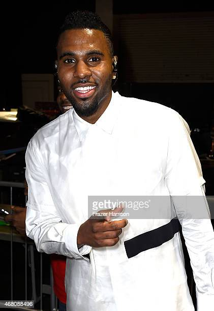 Singer Jason Derulo attends the 2015 iHeartRadio Music Awards which broadcasted live on NBC from The Shrine Auditorium on March 29 2015 in Los...
