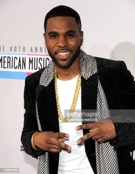 Singer Jason Derulo attends the 40th American Music Awards held at Nokia Theatre LA Live on November 18 2012 in Los Angeles California