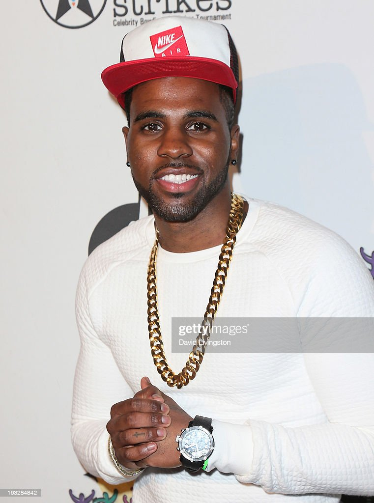 Singer Jason Derulo attends the 7th Annual 'Stars & Strikes' Celebrity Bowling and Poker Tournament benefiting A Place Called Home at PINZ Bowling & Entertainment Center on March 6, 2013 in Studio City, California.