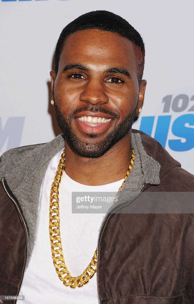 Singer Jason Derulo attends the KIIS FM's Jingle Ball 2012 held at Nokia Theatre LA Live on December 3, 2012 in Los Angeles, California.