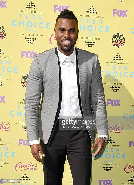 Singer Jason Derulo attends the Teen Choice Awards 2015 at the USC Galen Center on August 16 2015 in Los Angeles California