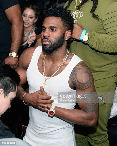 Singer Jason Derulo launches 'Industry Wednesdays' at 1 OAK Nightclub at The Mirage Hotel Casino on March 2 2016 in Las Vegas Nevada