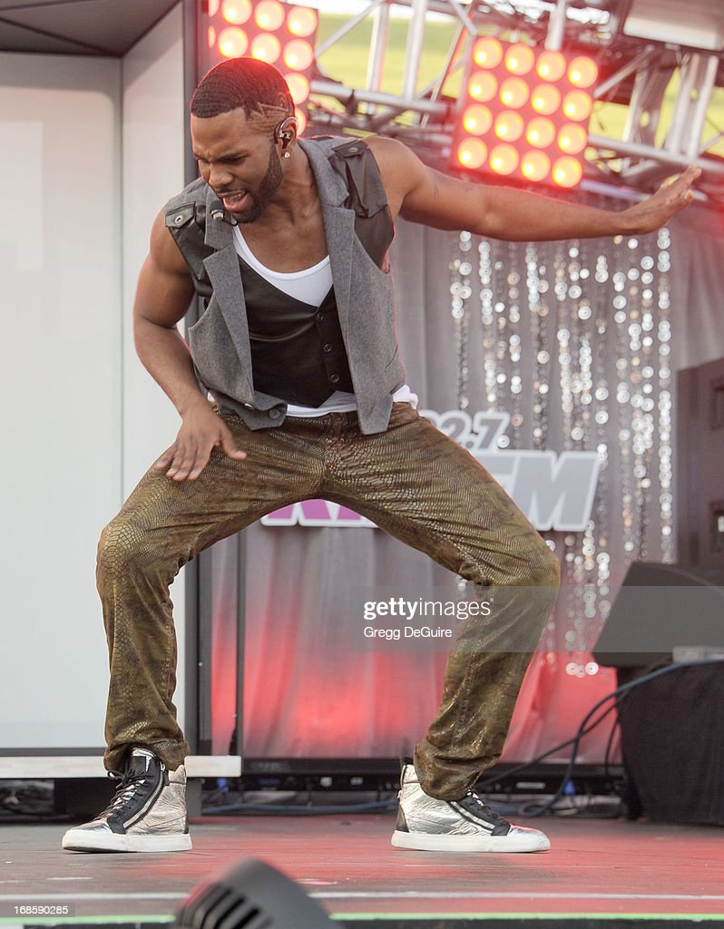 Singer Jason Derulo performs at 102.7 KIIS FM's Wango Tango at The Home Depot Center on May 11, 2013 in Carson, California.