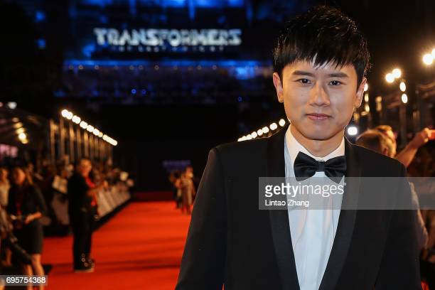Singer Jason Zhang attends the 'Transformers The Last Knight' China World Premiere and Ten Year Anniversary Celebration at Haixinsha Asian Olympic...
