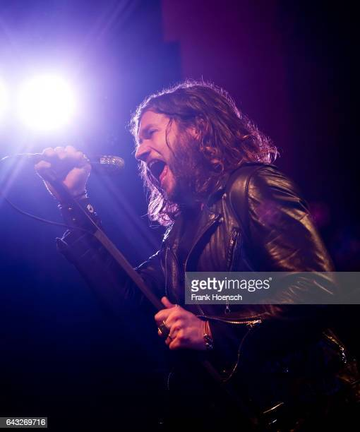 Singer Jay Buchanan of the American band Rival Sons performs live during a concert at the Astra on February 20 2017 in Berlin Germany