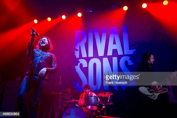 Singer Jay Buchanan of the British band Rival Sons performs live in support of Deep Purple during a concert at the MaxSchmelingHalle on November 24...