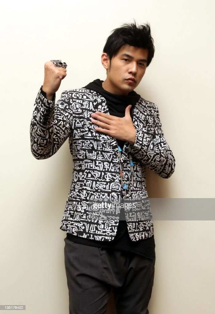 Singer <a gi-track='captionPersonalityLinkClicked' href=/galleries/search?phrase=Jay+Chou&family=editorial&specificpeople=697028 ng-click='$event.stopPropagation()'>Jay Chou</a> launches new album 'Exclamation Point' at Millennium Hotel on December 6, 2011 in Beijing, China.