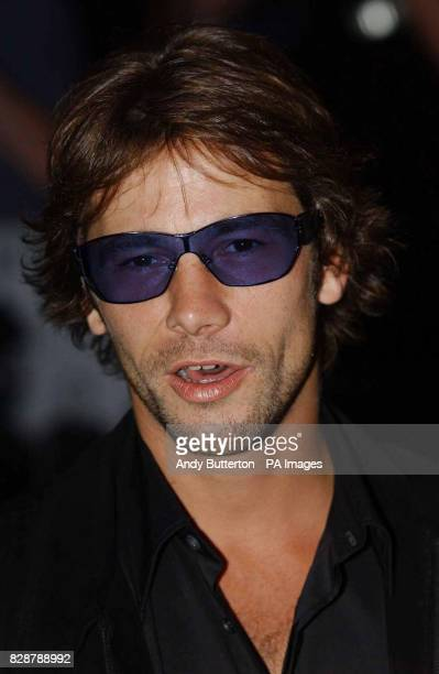 Singer Jay Kay arrives for the UK film premiere of The Italian Job at the Empire Leicester Square in London