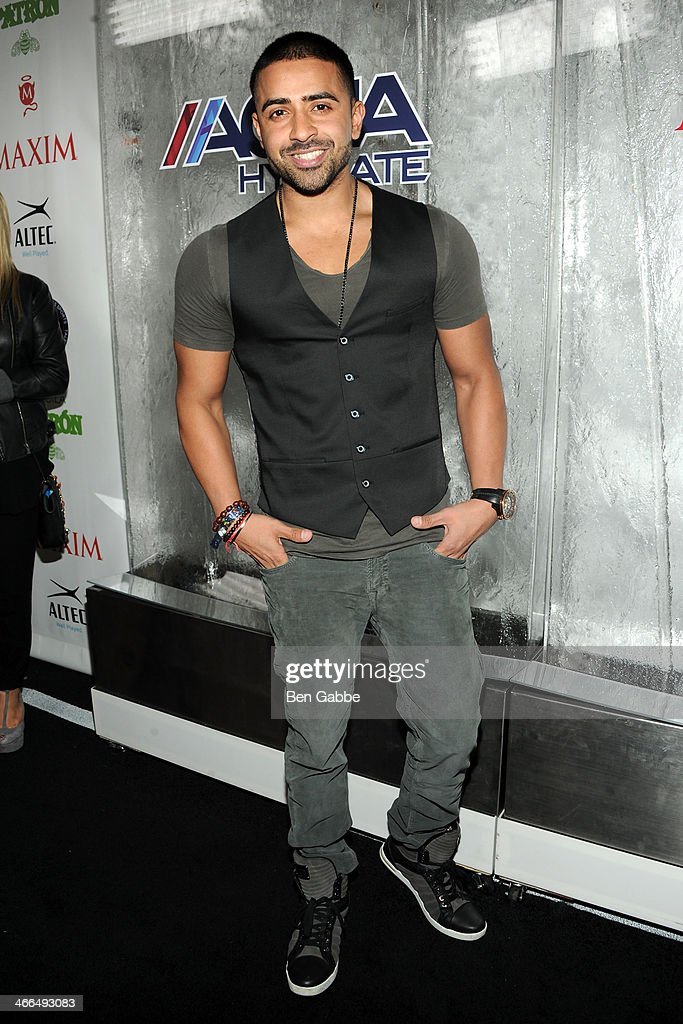 Singer <a gi-track='captionPersonalityLinkClicked' href=/galleries/search?phrase=Jay+Sean&family=editorial&specificpeople=215091 ng-click='$event.stopPropagation()'>Jay Sean</a> attends MAXIM Magazine's 'Big Game Weekend' Sponsored By AQUAhydrate on February 1, 2014 in New York City.