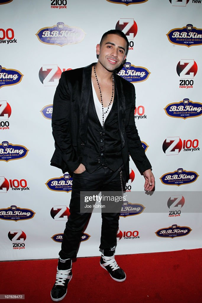 Singer <a gi-track='captionPersonalityLinkClicked' href=/galleries/search?phrase=Jay+Sean&family=editorial&specificpeople=215091 ng-click='$event.stopPropagation()'>Jay Sean</a> attends the official Z100 Jingle Ball 2010 after party at BB King on December 10, 2010 in New York City.