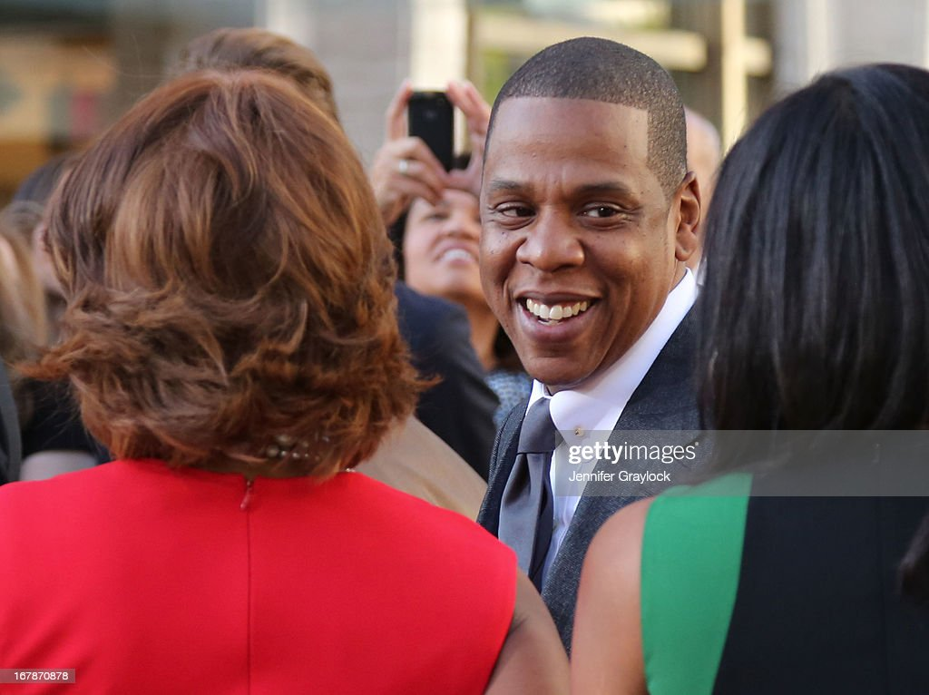 Singer Jay-Z attends the 'The Great Gatsby' world premiere at Avery Fisher Hall at Lincoln Center for the Performing Arts on May 1, 2013 in New York City.