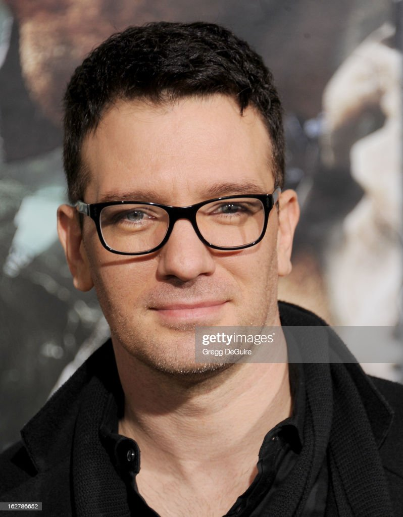 Singer <a gi-track='captionPersonalityLinkClicked' href=/galleries/search?phrase=JC+Chasez&family=editorial&specificpeople=209140 ng-click='$event.stopPropagation()'>JC Chasez</a> arrives at the Los Angeles premiere of 'Jack The Giant Slayer' at TCL Chinese Theatre on February 26, 2013 in Hollywood, California.