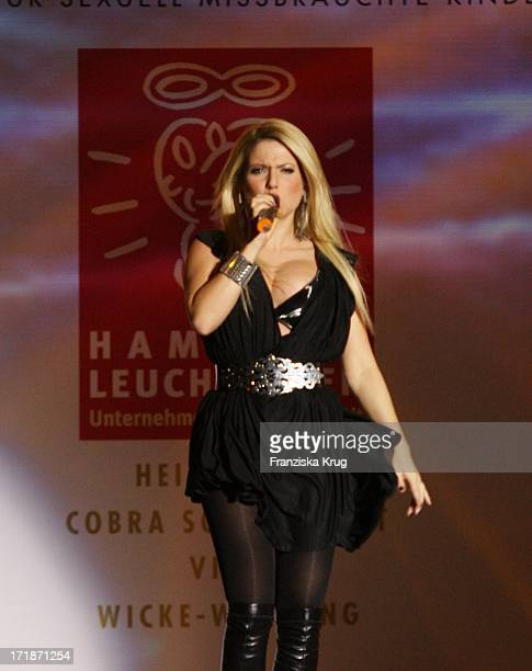 Singer Jeanette Biedermann at Event Prominent at the Grand Elysee in Hamburg